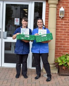 Aldergrove Care Home donation point Project GIVE
