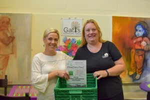Gatis st Community Space donation point Project GIVE
