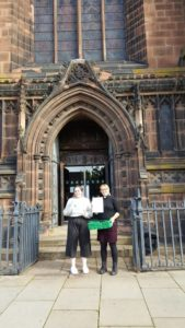 St Peter's Church Donation point Project GIVE